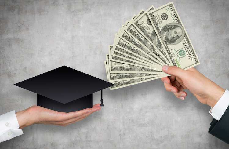 money donation law school