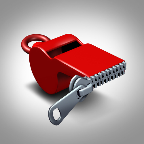 whistleblower concept