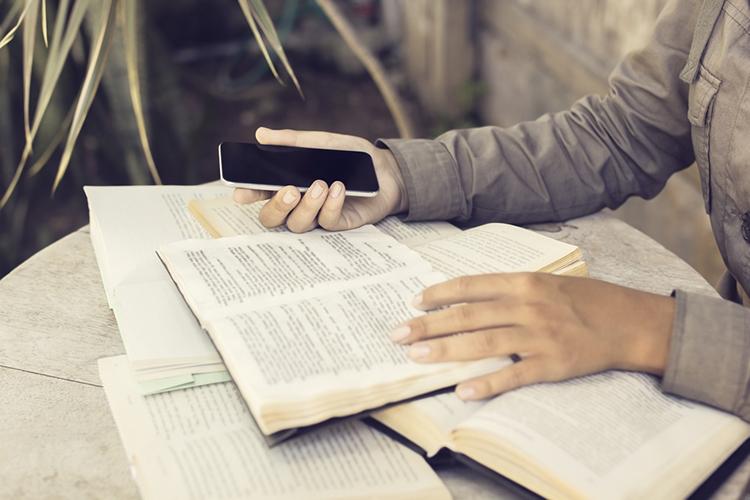 study cellphone