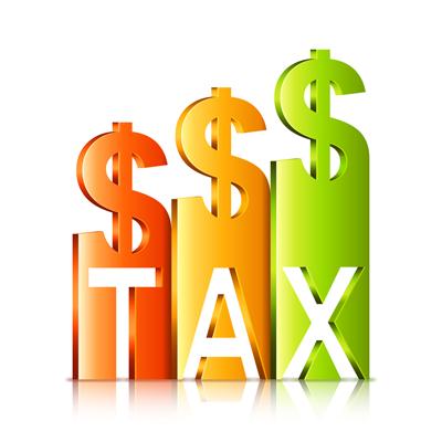 taxes chart