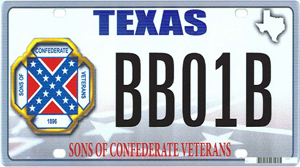 Proposed license plate