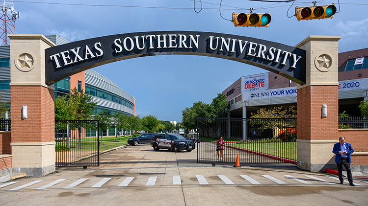 Texas Southern University arch