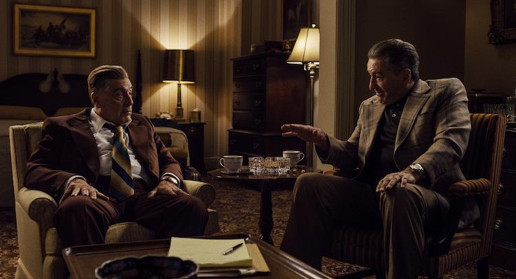 The Irishman De Niro and Pacino