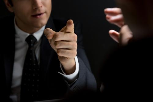 threatening lawyer
