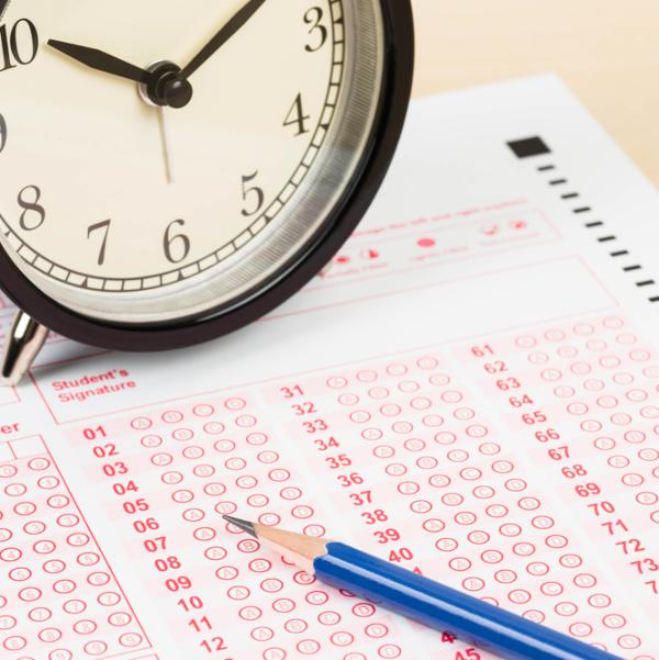 clock exam