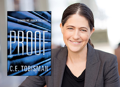 Cindy Tobisman and her book Proof
