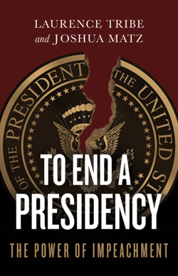To end a presidency book cover