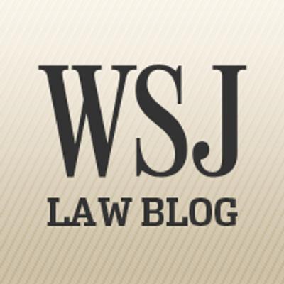 WSJ Law Blog