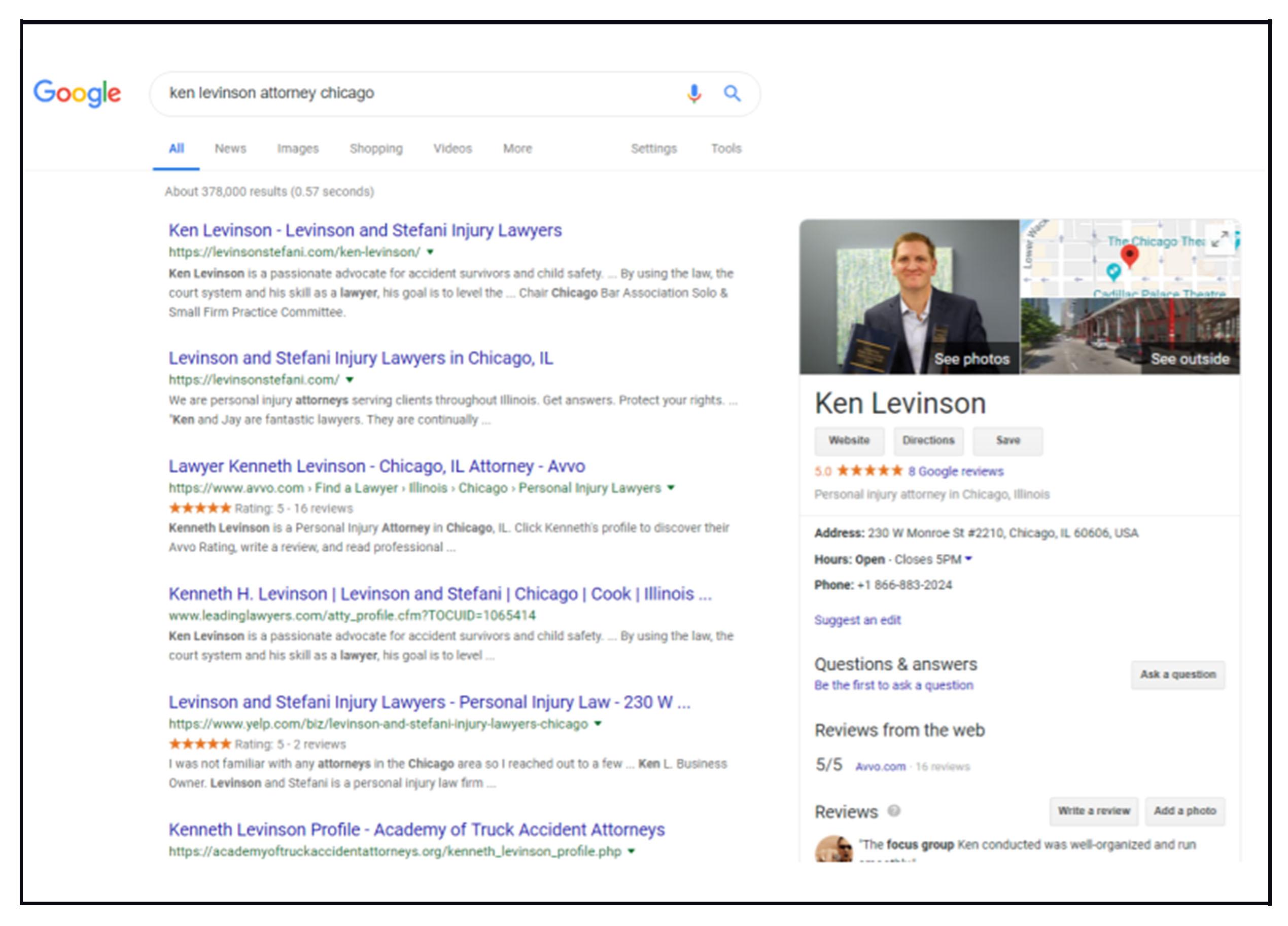 your voice levinson google